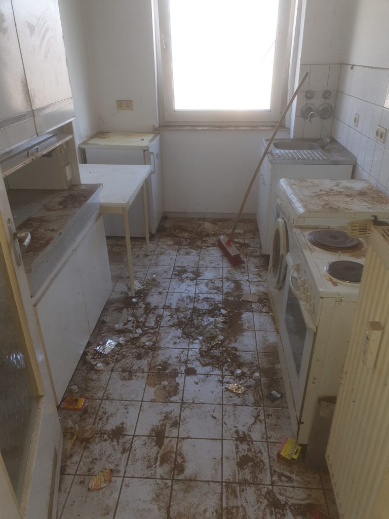Tatortreinigung Lipka Messie Beispiel Küche 3