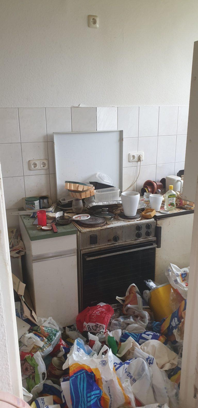 Tatortreinigung Lipka Messie Beispiel Wohnung 1
