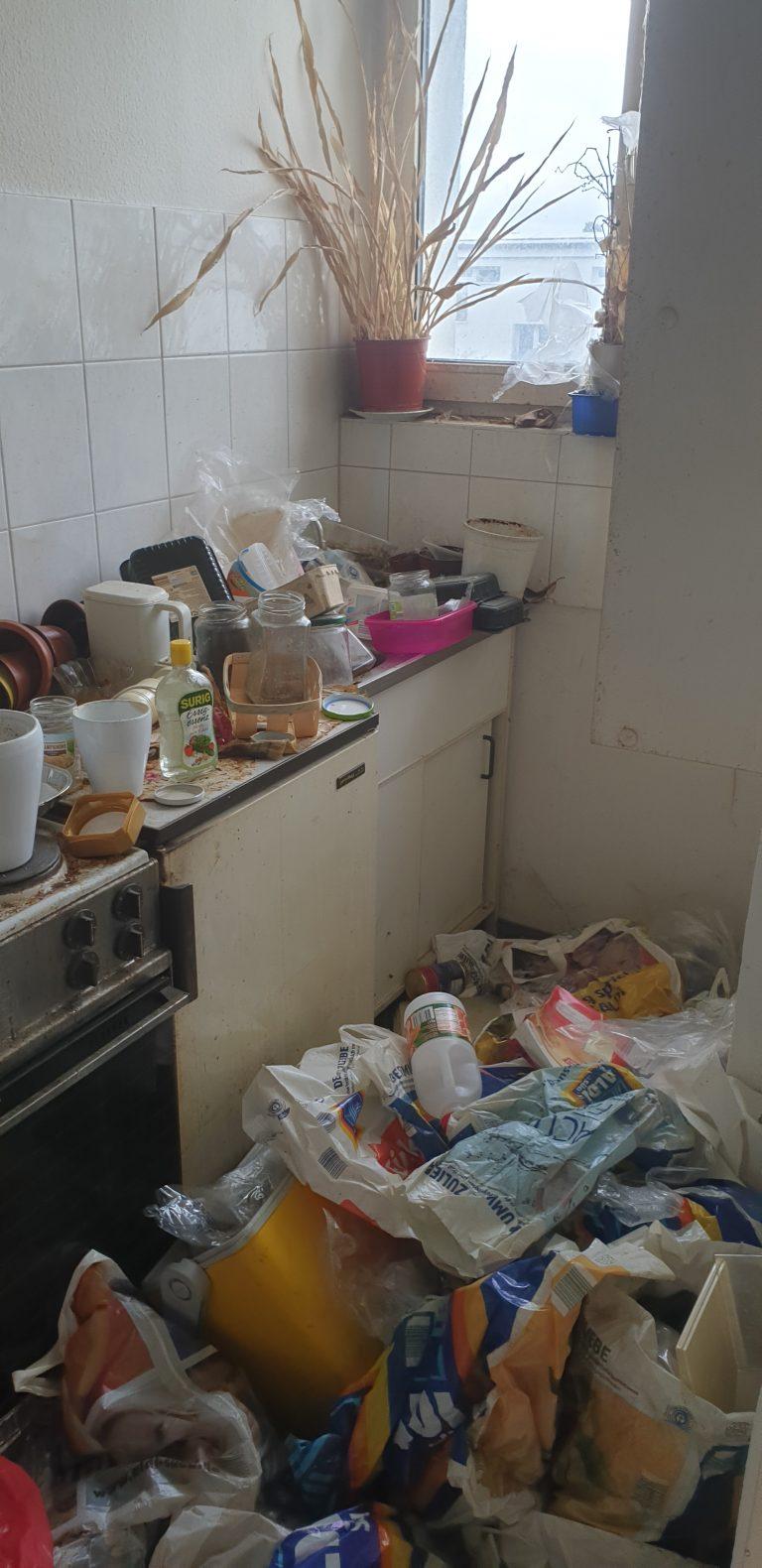 Tatortreinigung Lipka Messie Beispiel Wohnung 2