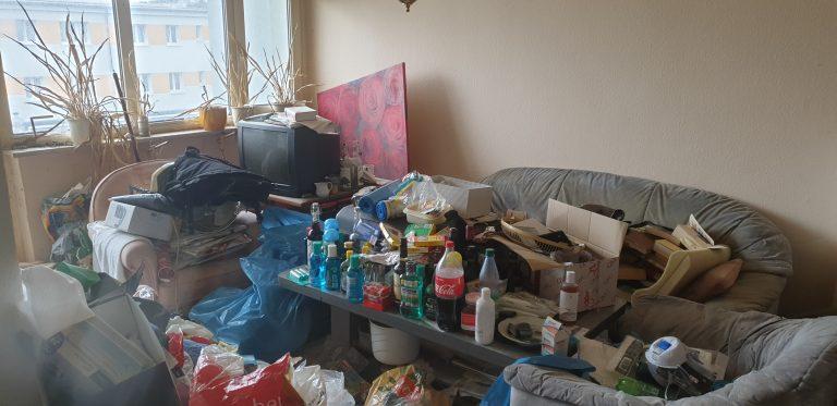 Tatortreinigung Lipka Messie Beispiel Wohnung 4